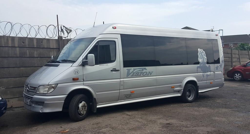 Minibus Hire at Vision Coaches