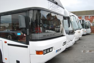 Airport large group coach hire