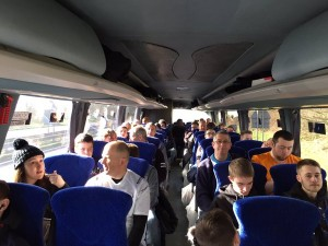 Vikings Travel with Vision Coaches to an Widnes Vikings away game
