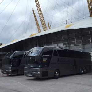 Vision Coaches on Tour