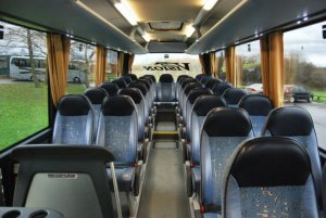 Schools coach inside view