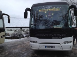 Tourliner on tour with National Holidays in Scotland