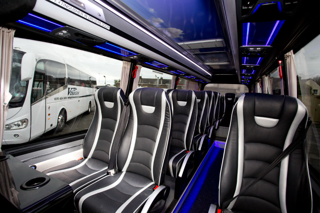 Coach Hire From Liverpool Airport To Speke Vision Coach Hire In